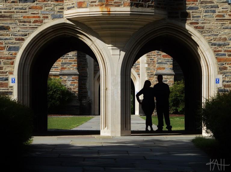 Duke has a very photogenic campus.