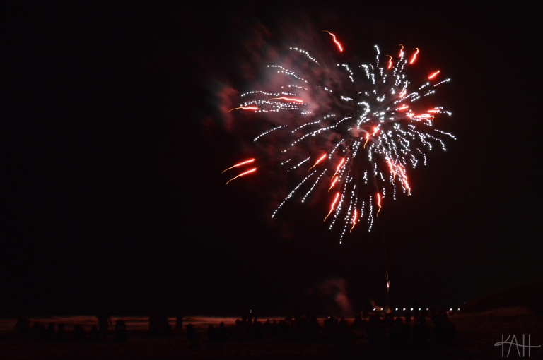 I didn't realize this until just now, but this firework vaguely looks like a heart.