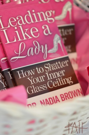 "Dr. Brown gave the participants an insight into her book, ""Leading Like a Lady""."