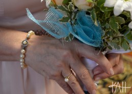 Kelly wore Mrs. Helms' bracelet and her mother's ring. (lightly edited)